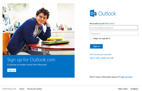 outlooksignup