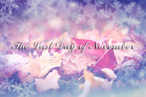 The last day of November