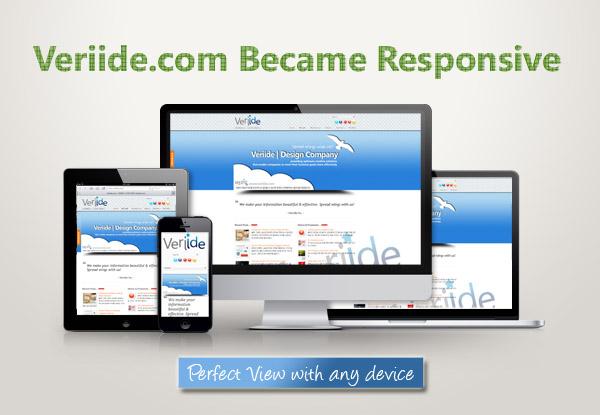(주)베리드 Responsive design ( 반응형 디자인 )